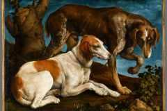 Jacopo-Bassano-Ritratto-di-due-cani-1548-1550-Musee-du-Louvre-Parigi