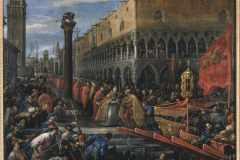 FD4081_dip_Francesco-Bassano_La-flotta-veneziana-si-appresta-a-salpare-dal-molo-di-San-Marco-contro-il-Barbarossa_foto-Cameraphoto_m