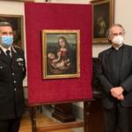 """Torna alla Pinacoteca Ambrosiana il capolavoro trafugato """"Madonna con Bambino"""" di Marco d'Oggiono"""
